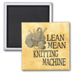 Knitting Machine 2 Inch Square Magnet