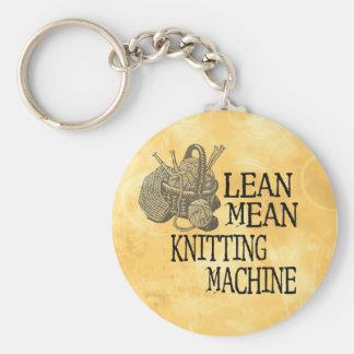 Knitting Machine Keychain