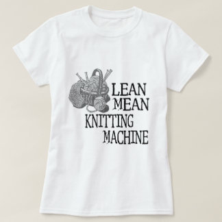 Knitting Machine T-Shirt