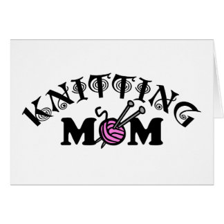 Knitting Mom Card