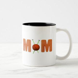 Knitting Mom Mothers Day Gifts Coffee Mug
