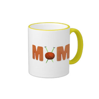 Knitting Mom Mothers Day Gifts Mugs