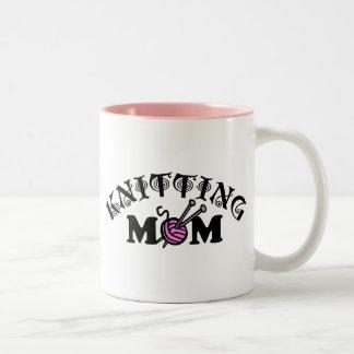 Knitting Mom Coffee Mugs