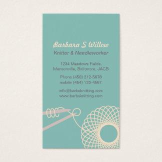 needlework business cards templates zazzle