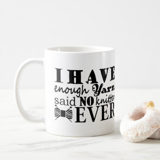 Knitting • Not Enough Yarn Crafts 2017 Coffee Mug