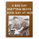 knitting notebooks