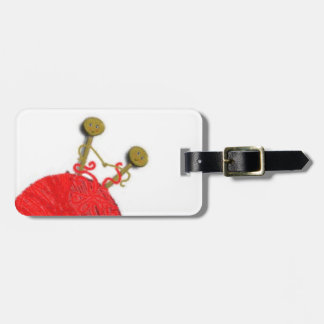 KNITTING novelty gift tag