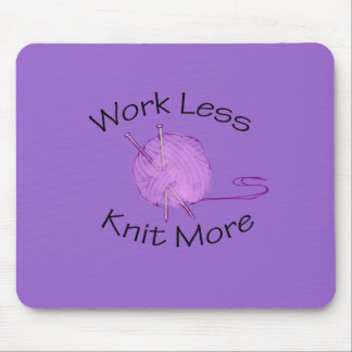 Knitting Passion Mouse Pad