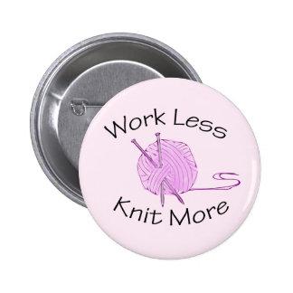 Knitting Passion Pinback Button