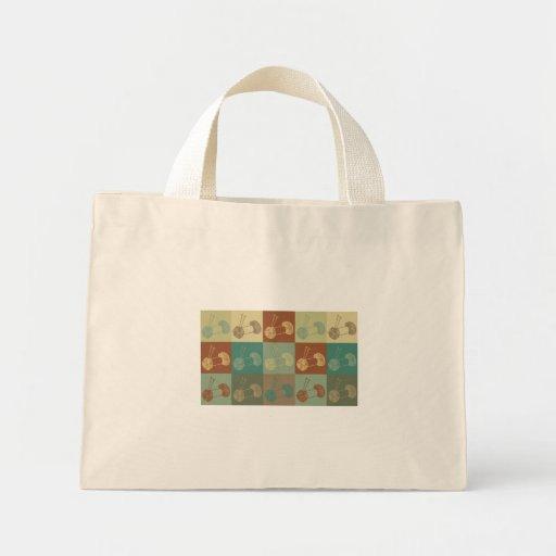 Knitting Pop Art Bag