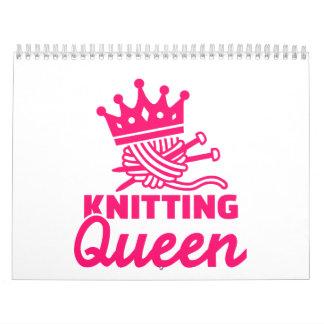 Knitting queen calendar
