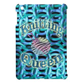 Knitting Queen iPad Mini Cover