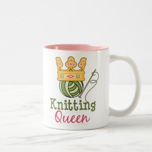 Knitting Queen Mug