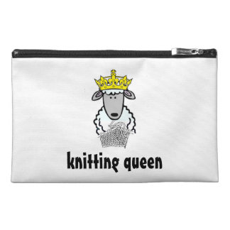 knitting queen travel accessory bags