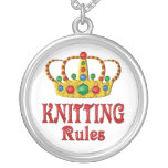 KNITTING RULES NECKLACES