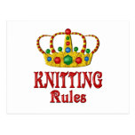 KNITTING RULES POSTCARDS