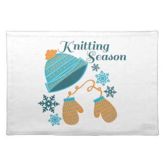 Knitting Season Cloth Placemat