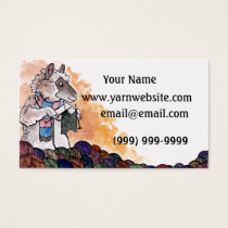 Knitting Sheep Business Card