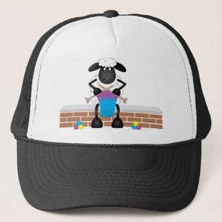 Knitting Sheep For Ewe Trucker Hat