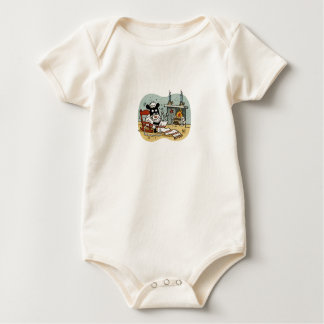 Knitting Sheep T Baby Bodysuit
