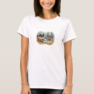 Knitting Sheep T T-Shirt