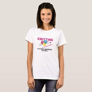 Knitting Skills Women's Basic T-Shirt