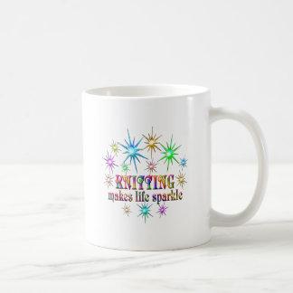 Knitting Sparkles Coffee Mug