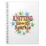 Knitting Sparkles Notebook