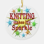 Knitting Sparkles Ornaments