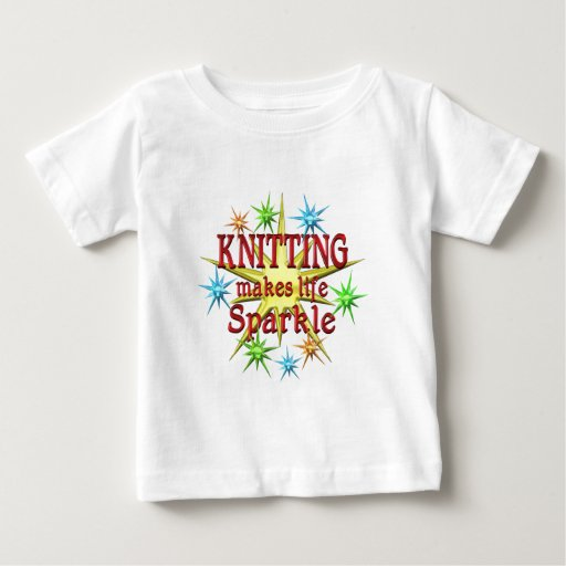 Knitting Sparkles Tees