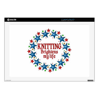 Knitting Stars Skins For Laptops