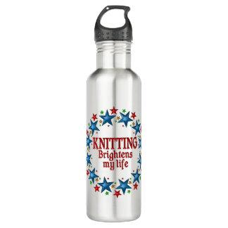 Knitting Stars Stainless Steel Water Bottle