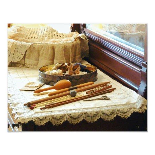 Knitting Supplies Card