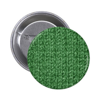 Knitting Texture of Green-Colored Yarn Pins