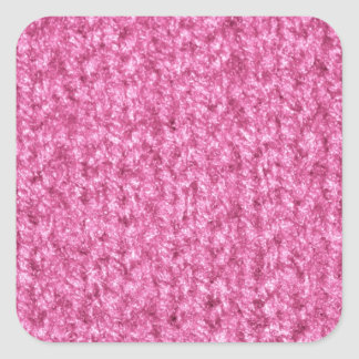 Knitting Texture of Pink-Colored Yarn Stickers