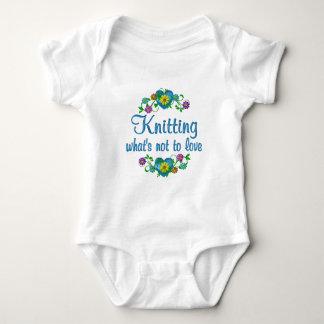 Knitting to Love Baby Bodysuit