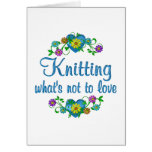Knitting to Love Card