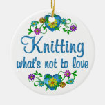 Knitting to Love Christmas Ornaments