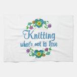 Knitting to Love Hand Towel