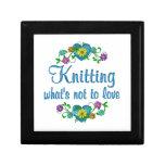 Knitting to Love Keepsake Boxes