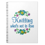 Knitting to Love Spiral Notebooks