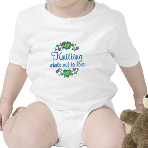 Knitting to Love T Shirts
