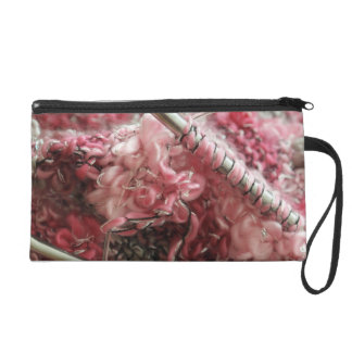 Knitting with Wool Wristlet