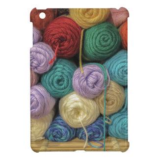 Knitting Yarn iPad Mini Cases