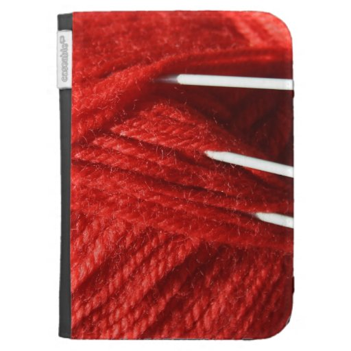 Knitting Yarn/Wool Kindle Folio Case