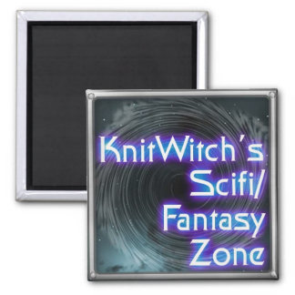 Knitwitch Magnet! 2 Inch Square Magnet