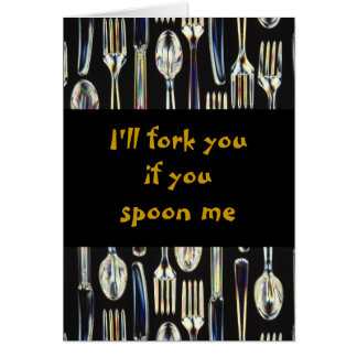 Knives, Forks and Spoons Cards
