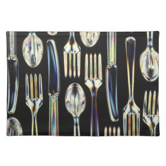 Knives, Forks and Spoons Cloth Placemat