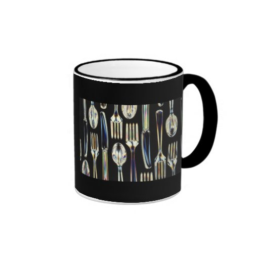 Knives, Forks and Spoons Coffee Mugs