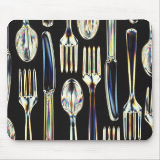 Knives, Forks and Spoons Mousepad